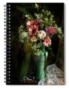 Flowers Still Life Spiral Notebook