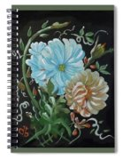 Flowers Surreal Spiral Notebook