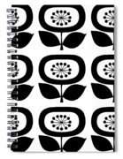 Flower 2 Group  Spiral Notebook