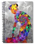 Flowerwoman Spiral Notebook