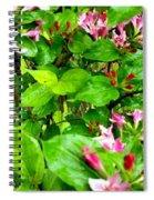 Flowery Flope Spiral Notebook