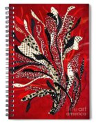 Flowing Dotcloth Bouquet Spiral Notebook