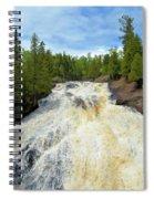 Flowing East Spiral Notebook