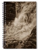Flowing Force Spiral Notebook