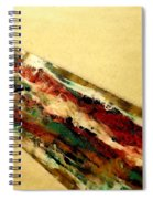 Flowing Heat Spiral Notebook