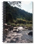 Flowing Nature Spiral Notebook