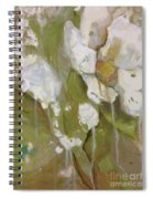Flowing Rose Spiral Notebook