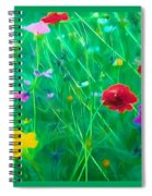 Flowing Softly Spiral Notebook