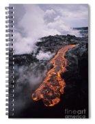 Flowing Towards Ocean Spiral Notebook