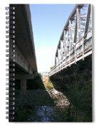Flowing Under The Bridges Spiral Notebook