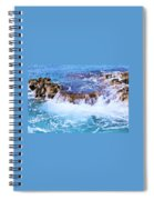 Flowing Water In The Cayman Islands # 4 Spiral Notebook