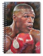 Floyd Mayweather Jr Spiral Notebook