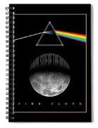 Floyd The Darkside Spiral Notebook