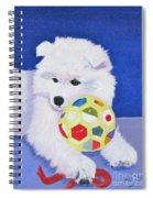 Fluffy's Portrait Spiral Notebook