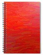 Fluid Motion Spiral Notebook