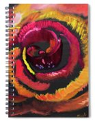 Fluorescent Rose Spiral Notebook