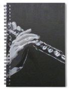 Flute Hands Spiral Notebook