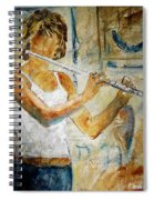 Flutist Spiral Notebook