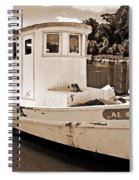 Fly Creek Work Boat Spiral Notebook