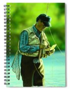 Fly Fisher II Spiral Notebook