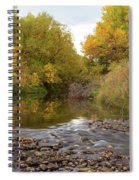 Fly Fishermans Paradise Spiral Notebook