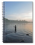 Fly Fishing 2 Spiral Notebook