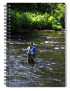 Fly Fishing In New York Spiral Notebook