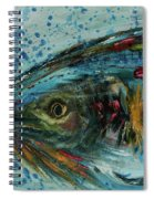 Fly Fishing Spiral Notebook