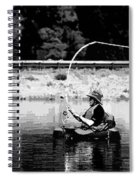 Fly Fishing Lesson Spiral Notebook