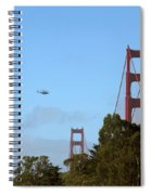 Fly Over Spiral Notebook