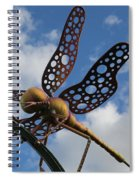 Fly To The Skies Spiral Notebook