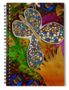 Fly With Me In Love Spiral Notebook