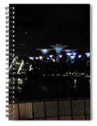 Flyer Night View Spiral Notebook