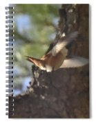 Flying Away Spiral Notebook