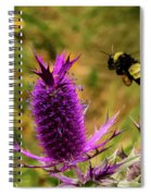 Flying Bee 2 Spiral Notebook