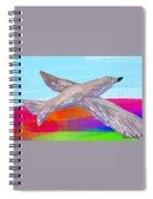 Flying Bird II Spiral Notebook