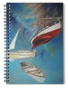 Flying Boats Spiral Notebook