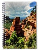 Flying Buttress 04-004 Spiral Notebook