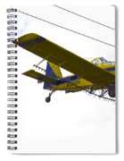 Flying By Wire 4 Of 6 Spiral Notebook