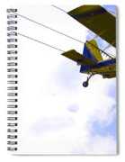 Flying By Wire 5 Of 6 Spiral Notebook