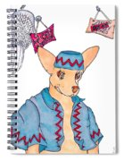 Flying Chihuahua's Spiral Notebook