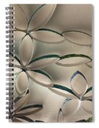 Flying Flowers Spiral Notebook