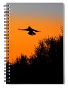Flying Free In Northen Beaches Spiral Notebook
