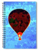 Flying High - Hot Air Balloon Spiral Notebook