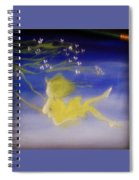 Flying In The Air Spiral Notebook