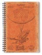 Flying Machine - 01c02 Spiral Notebook