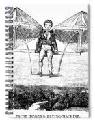 Flying Machine, 1807 Spiral Notebook
