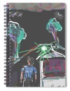 Flying Men Spiral Notebook