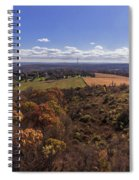 Flying Over New Milford Spiral Notebook