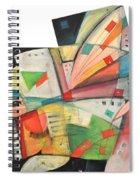 Flying Pig Spiral Notebook